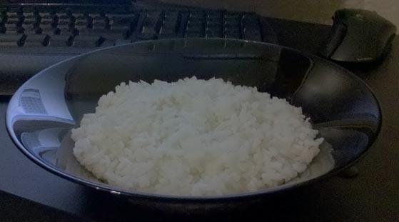 Размер порции риса для 80 г углеводов