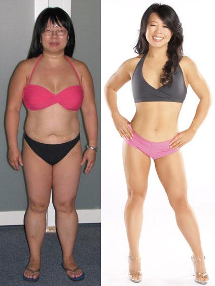 Linda до и после похудения