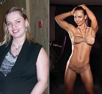 Похудение - фото до и после